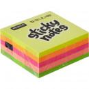 Блок бумажный с липким слоем  51х51 мм, Attache 5 цветов неоновые 250 листов