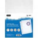 Папка Файл-вкладыш А-4+ 60 мкм  Attache Selection Кристал 10 шт/уп