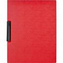 Папка с клипом Attache  А4 красная (до 30 листов)