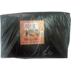 Мешки для мусора 100л 70x110 см, 50 мкм, 10 шт./уп.