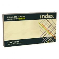 Блок бумажный с липким слоем 125*75 жёлтый