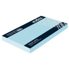 Блок бумажный с липким слоем 125*75 голубой
