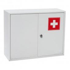 Аптечка металлическая Office-Force 20098,2 двери,450х150х360
