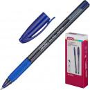 Ручка шариковая Attache Trio Grip, маслянная, синяя (0.5 мм)