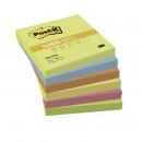 Блок самокл 3М Post-it 76*76 6 блоков Теплая неоновая радуга