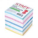 Блок бумажный  9*9*9 без склейки цветной