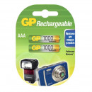 Аккумулятор GP  1000mAh  АAA /HR03 NiMH бл/2