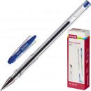 Ручка гелевая Attache City, синяя
