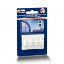 Держатель для проводов Unibob удаляемые белые нагрузка до 300 г (4 штуки в упаковке)