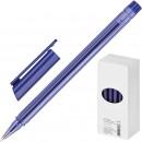 Ручка шариковая Attache Atlantic трехгранный корпус синяя
