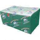 Салфетки Big Pack 1-сл 24*24см зеленые 400шт/упак