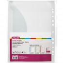Папка Файл-вкладыш А-4+ 150 мкр. гладкий, прозрачный,  10 шт/упак