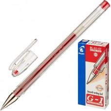 Ручка гелевая Pilot G-1  красная