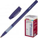 Ручка шариковая Attache Indigo, маслянная, синяя (0.5 мм)