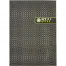 Блокнот А-4 80л Attache Office Style ,серый в клетку на сшивке
