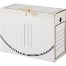 Архивный короб с завязками самосборн микрогофрокартон 240х150х320 мм