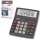 Калькулятор STAFF STF-8008, 8 разрядов, двойное питание