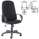 Кресло офисное Фаворит. СН 279, ткань черная. серая. коричневая