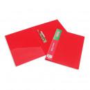 Папка с прижимом Attache F611 0,7мм красная