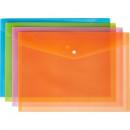 Папка-конверт на кнопке А-4  Attache Fantasy на кнопке (8 шт/упак)