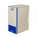 Короб архивный картон 325x260x150 мм, Синий