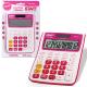 Калькулятор STAFF STF-6212 , 12 разрядов, малиновый