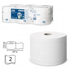 Бумага туалетная Tork SmartOne Т8 207м 1150л 6рул.(центр.вытяжка)472242