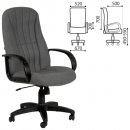 Кресло офисное Chairman CH 685/Классик, серая ткань
