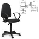 Кресло офисное Юпитер/Jupiter GTP, черная ткань