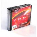 Диск CD-R VS 80 52x Slim 5шт/уп