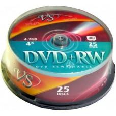 Диск DVD+R VS  на шпинделе 25шт 4,7Гб