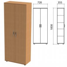Шкаф для документов закрытый Лайт 700*350*1830 ЛТ Ш-02/01
