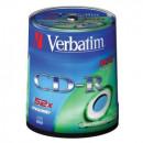 Диск CD-R на шпинделе  100 шт (Verbatim)