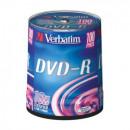 Диск DVD-R на шпинделе  Verbatim  100 шт