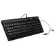 Клавиатура проводная Sonnen KB-300B (310), черная  (USB)