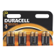 Батарейки Duracell АА/LR6-18BL BASIC   8шт/упак