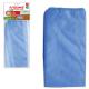 Тряпка для пола 70*80см, плотная микрофибра, синяя