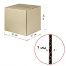 Коробка картонная 370х270х370мм,, картон Т22, бурый, 10 шт./уп