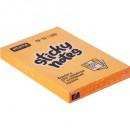 Блок бумажный с липким слоем  51*76 Attache Selection ОРАНЖ неонов