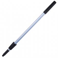 Ручка для стекломойки Проф алюм., телескоп, 2 штанги, 120см