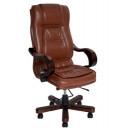 Кресло офисное Dallas натуральная кожа,