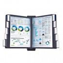 Демо-система MEGA Office FDS006 настеная 10 пан., черный