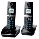 Радиотелефон Panasonic KX-TG8052RUB черный