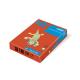 Бумага цветная.IQ А-4 80г/м ZR09-кирпично-красный, 500 листов