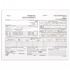 Путевой лист грузового автомобиля 4-П 100л/пач