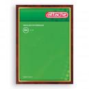 Рамка для сертификатов 30*40 темный пластик
