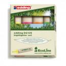 Набор текстовыделителей Edding  Eco E-24/4S. 4цвета