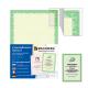 Сертификат-бумага  А-4, 25 листов, зеленый интенсив