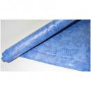 Скатерть бумажная Vitto Prestige 1,2*7 м синяя рулон с полимер.покр