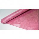 Скатерть бумажная Vitto Prestige 1,2*7 м бордовый рулон с полимер.покр